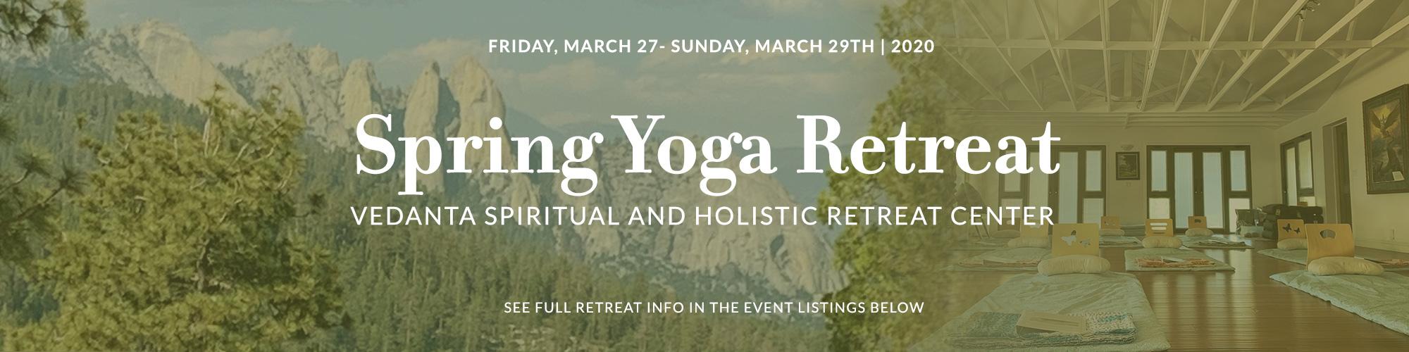 March Yoga Retreat