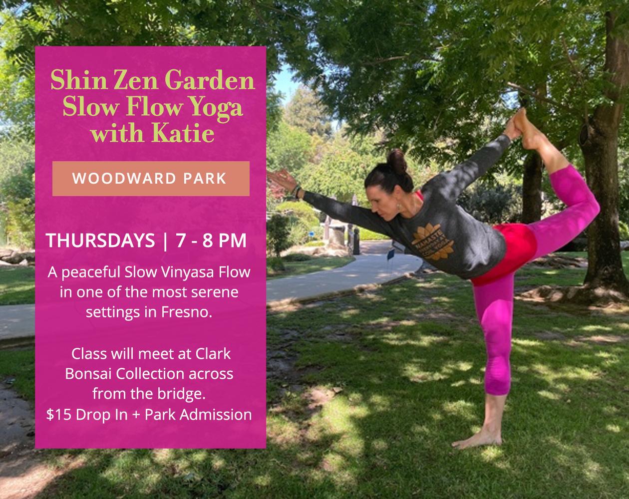Yoga at Shin Zen Gardens